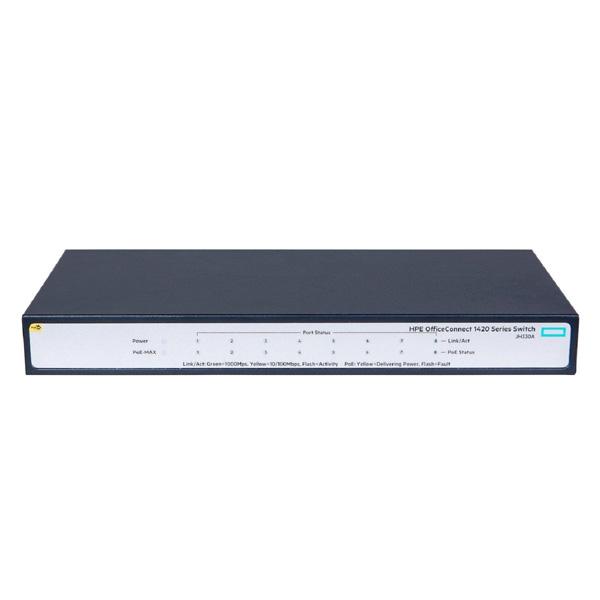 HPE-1420-8G-PoE-64W-Switc